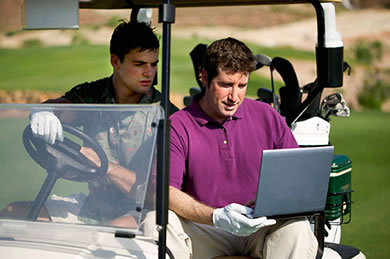 search golf jobs